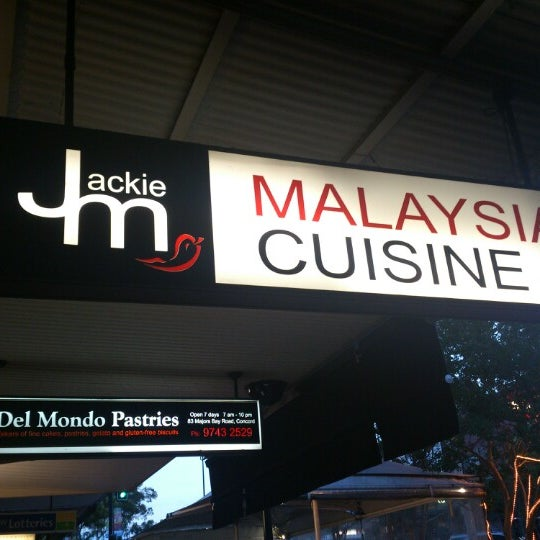 Photo taken at Jackie M Malaysian Cuisine by Snıkt on 11/24/2012