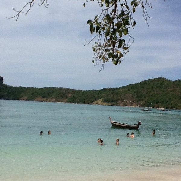 Photo taken at Phi Phi Island by Nicole K. on 2/1/2013