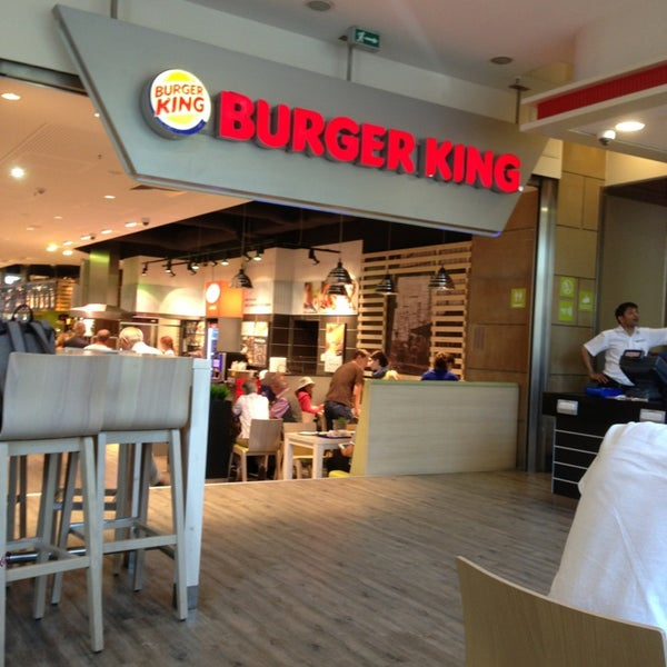 burger king fast food restaurant in frankfurt am main. Black Bedroom Furniture Sets. Home Design Ideas
