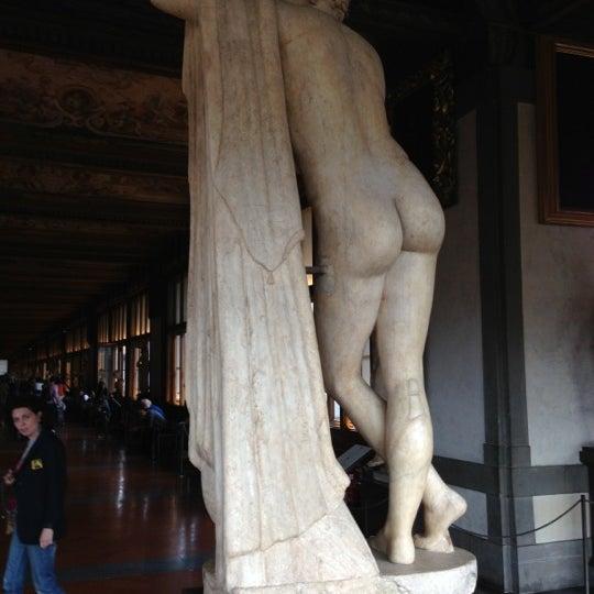 Photo taken at Uffizi Gallery by Thomas K. on 10/7/2012