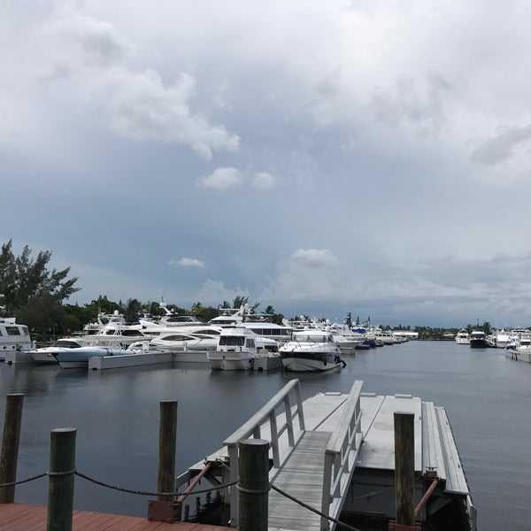 Photo taken at Marina Bay Marine Resort by Ian T. on 7/30/2017