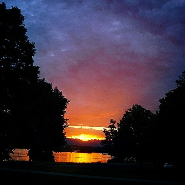 Photo taken at Sloan's Lake Park by Josh M. on 8/7/2014