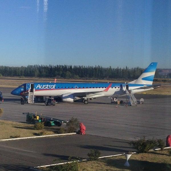 Foto tomada en Aeropuerto Internacional del Neuquén - Presidente Juan D. Perón (NQN) por Ezequiel N. el 3/26/2013