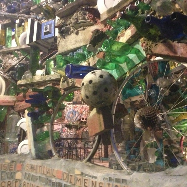 Photo taken at Philadelphia's Magic Gardens by Lu C. on 2/15/2013