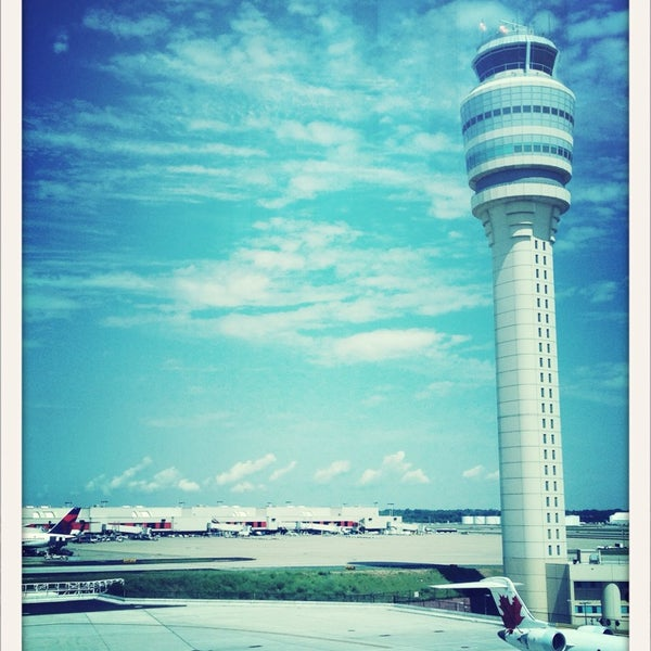 Photo taken at Hartsfield-Jackson Atlanta International Airport (ATL) by Aaron on 6/30/2013