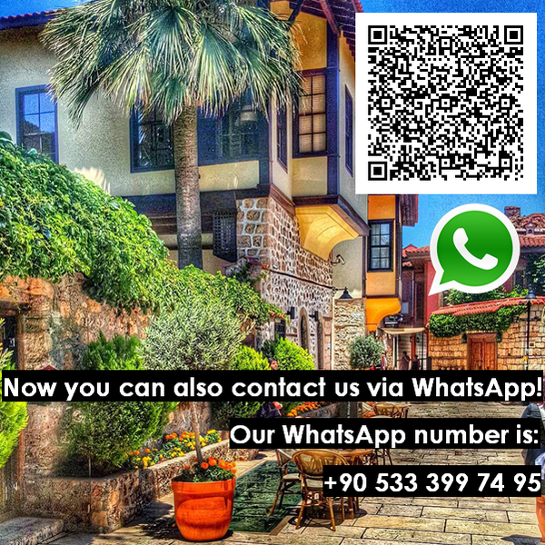 NEW WHATSAPP SERVICE FOR OUR GUESTS: CONTACT US VIA WHATSAPP!