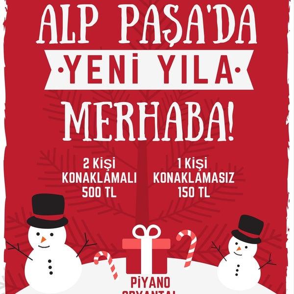 Yılbaşı programımızı iftiharla sunarız... ✨⛄🎁🎉🎈🎅🎄🎼🎶🎸💃 #Antalya #Yılbaşı #2017 #AlpPasaHotel #Restoran #Otel #Eğlence