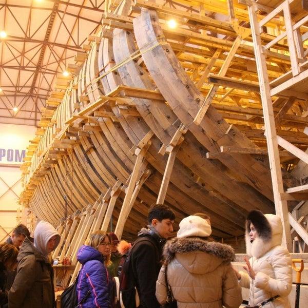 Снимок сделан в Историческая верфь «Полтава» пользователем Maria S. 3/13/2015