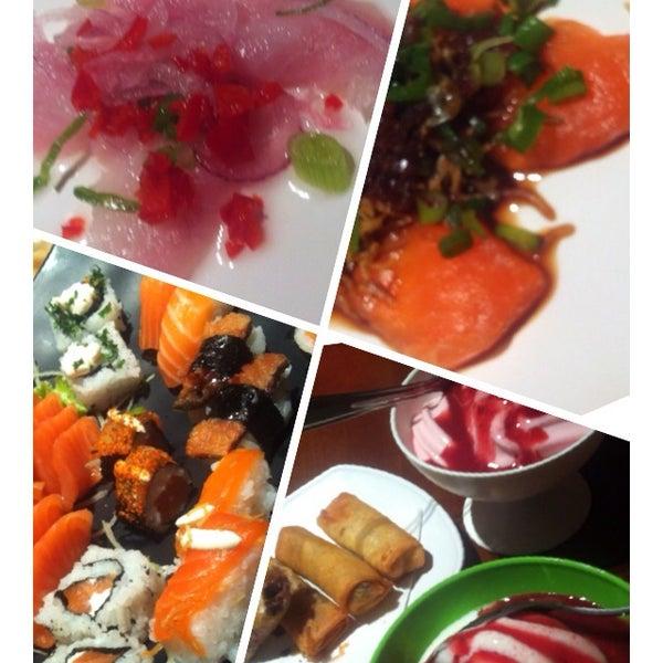 รูปภาพถ่ายที่ Saikou Sushi โดย Barbara N. เมื่อ 4/10/2014