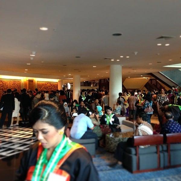 Photo taken at Bali International Convention Centre (BICC) by Bakta N. on 3/21/2014