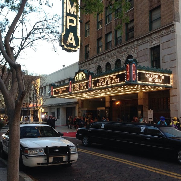 Photo taken at Tampa Theatre by Eddie D. on 3/2/2014