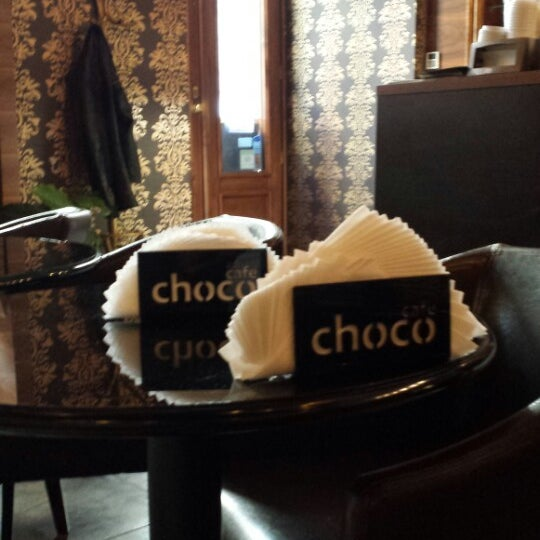 Photo taken at Choco Cafe by Anna G. on 9/4/2013
