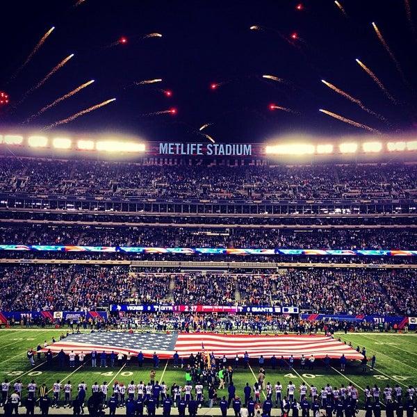 Photo taken at MetLife Stadium by Brett S. on 10/22/2013