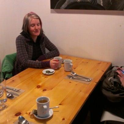 Photo taken at Rise Above Restaurant & Bakery by Steven D. on 10/28/2012