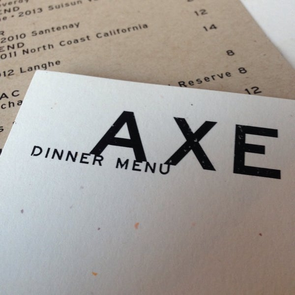 Photo taken at Axe by Andrew G. on 7/7/2014