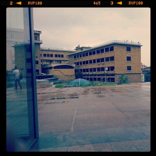 Photo taken at Holy Spirit University Of Kaslik by Tony S. on 10/1/2012