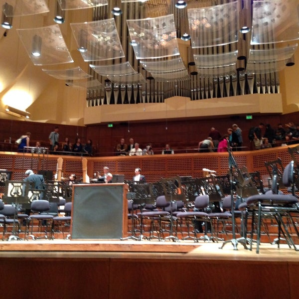 Photo taken at Louise M. Davies Symphony Hall by Tak H. on 9/22/2013