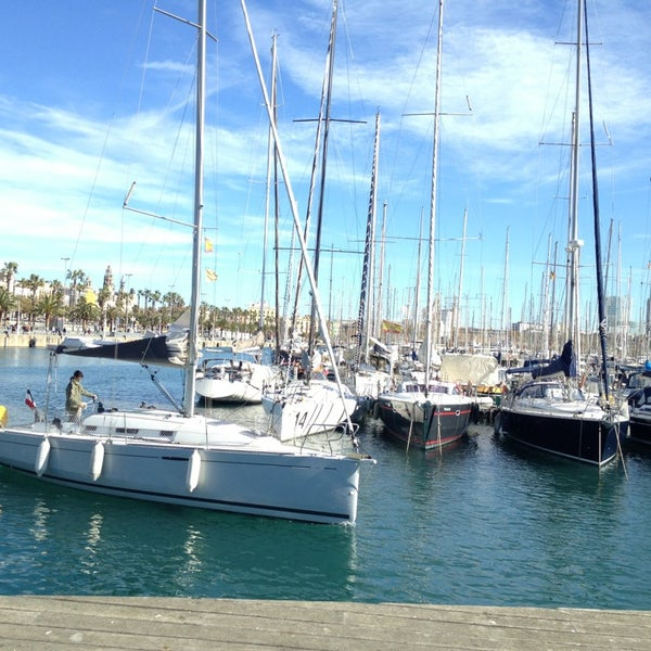 Photo taken at OneOcean Port Vell Barcelona by Nataly K. on 3/10/2013