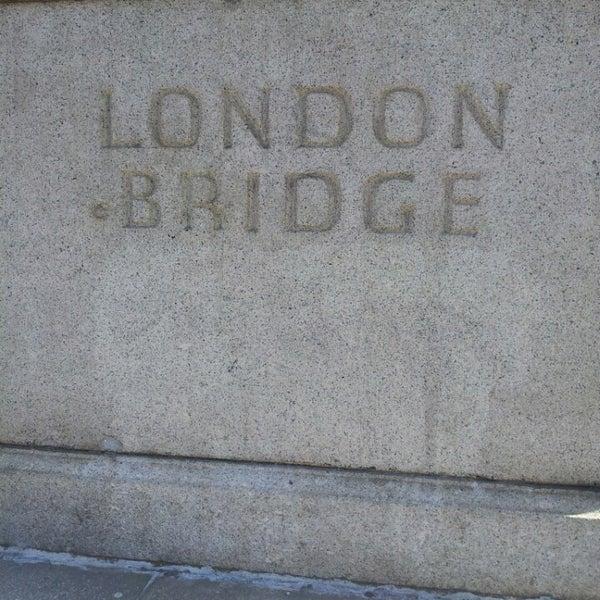 Photo taken at London Bridge by Reene H. on 4/23/2013
