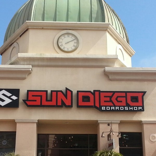 Sun diego clothing store