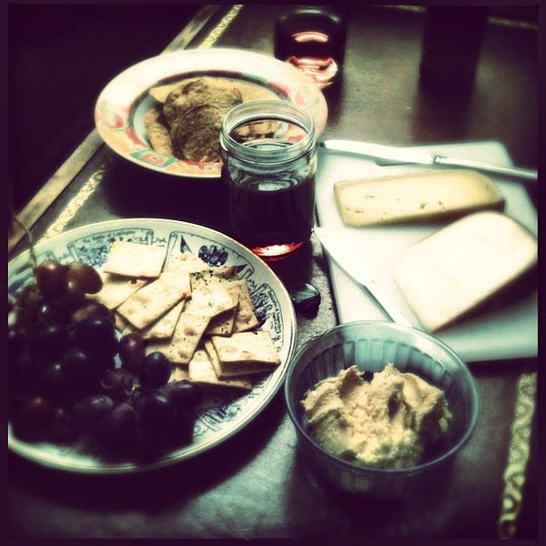 wine and cheese cask