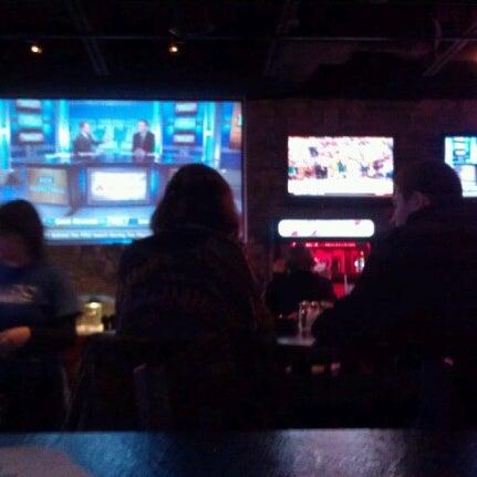 Photo taken at Sak's Sports Bar by Amos G. on 2/7/2013