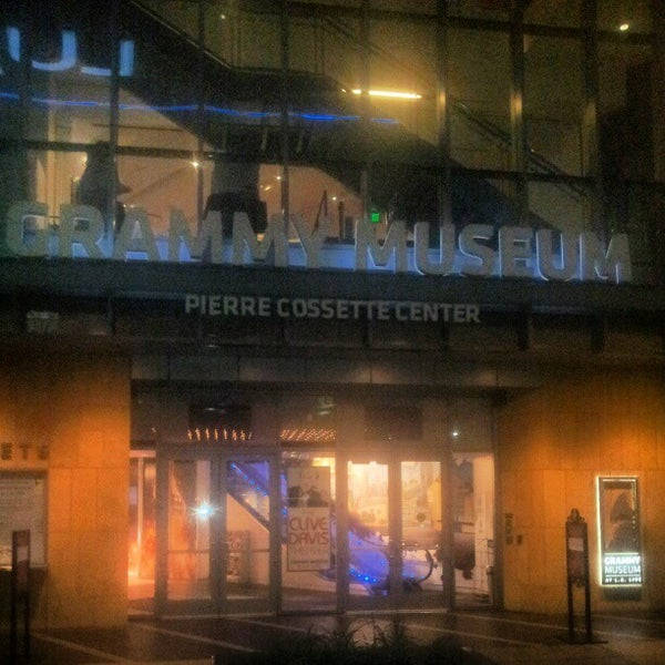 Photo taken at The GRAMMY Museum by Damian Z. on 2/19/2013