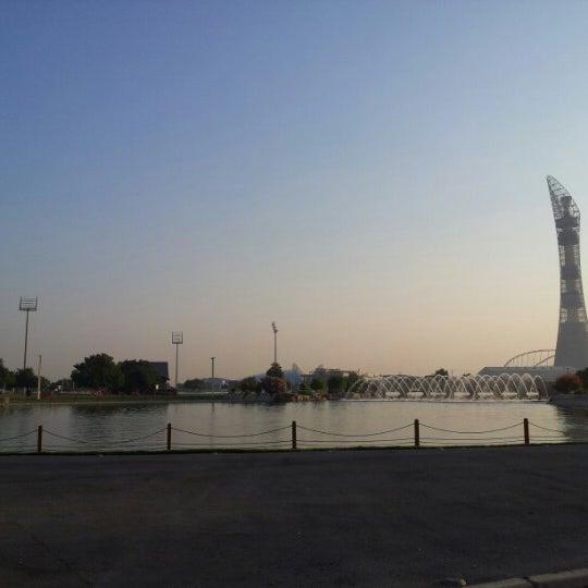 Photo taken at Aspire Park by Kat V. on 11/3/2012