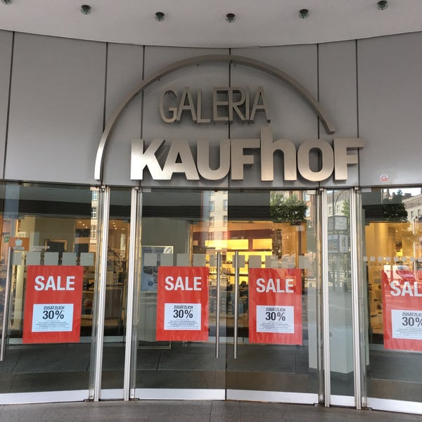 Galeria Kaufhof: Department Store In Stadtmitte