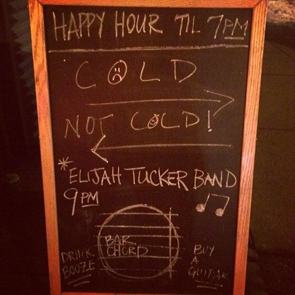 Photo taken at Bar Chord by Chris B. on 2/12/2014