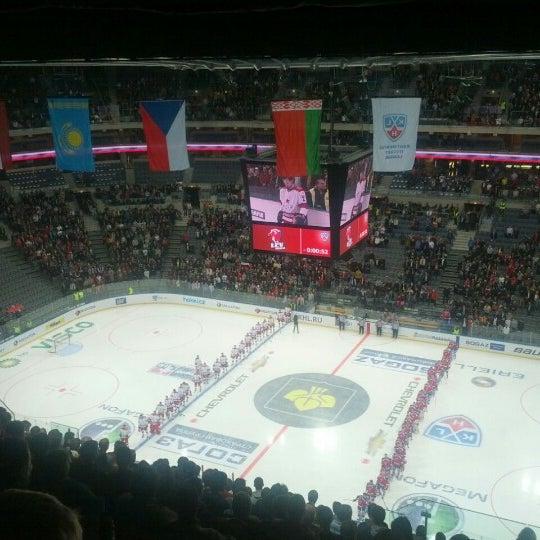 Photo taken at O2 arena by Igi P. on 10/25/2012