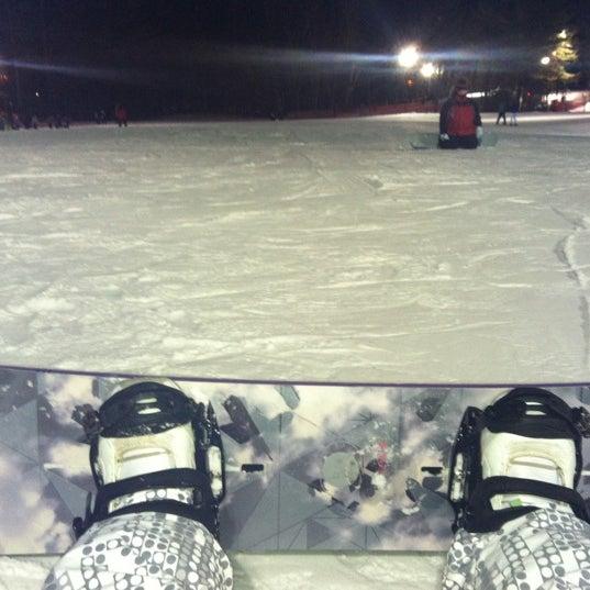 Photo taken at Pat's Peak Ski Area by Crystal D. on 1/27/2013