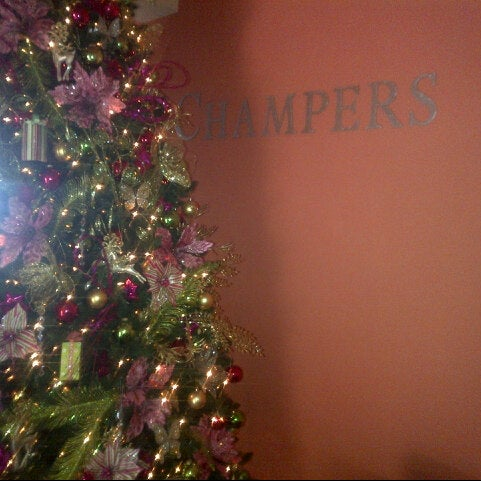 Photo taken at Champers Restaurant & Wine Bar by Faye B. on 12/21/2012