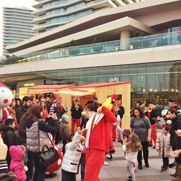 Photo taken at Zorlu Center Şantiyesi by Okan B. on 12/20/2014