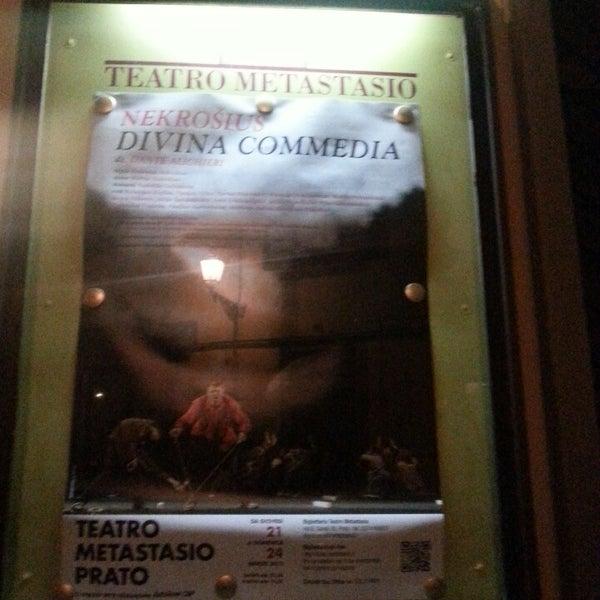 Das Foto wurde bei Teatro Metastasio von Roberta V. am 3/22/2013 aufgenommen