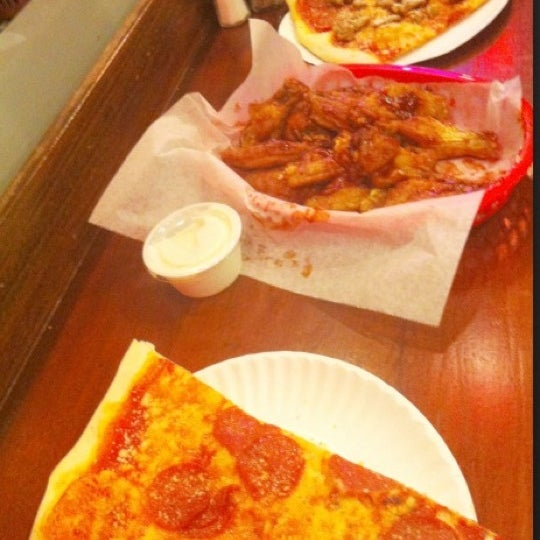 Photo taken at Burke Street Pizza by Mea G. on 11/2/2012