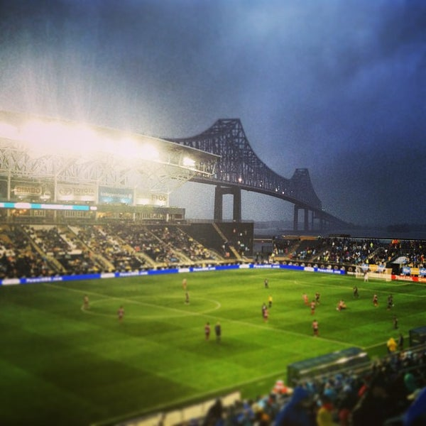 Photo taken at Talen Energy Stadium by Patrick R. on 7/12/2013