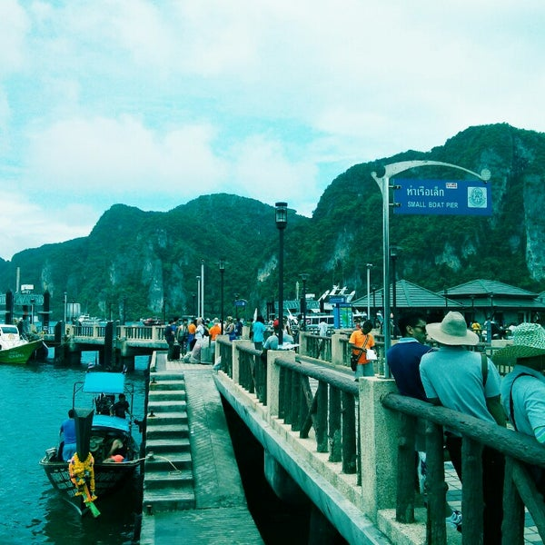 Photo taken at Phi Phi Island by Michael E. G. on 7/2/2013