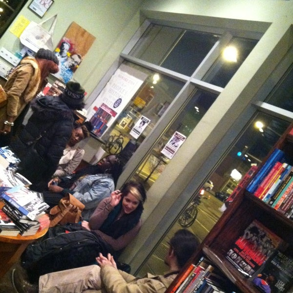 Photo taken at Busboys and Poets by Elizabeth on 2/11/2013