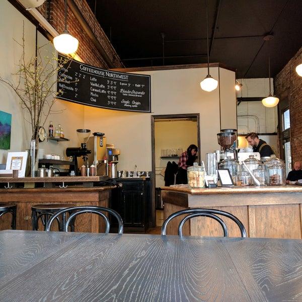Photo taken at Coffeehouse Northwest by Weston R. on 2/24/2017