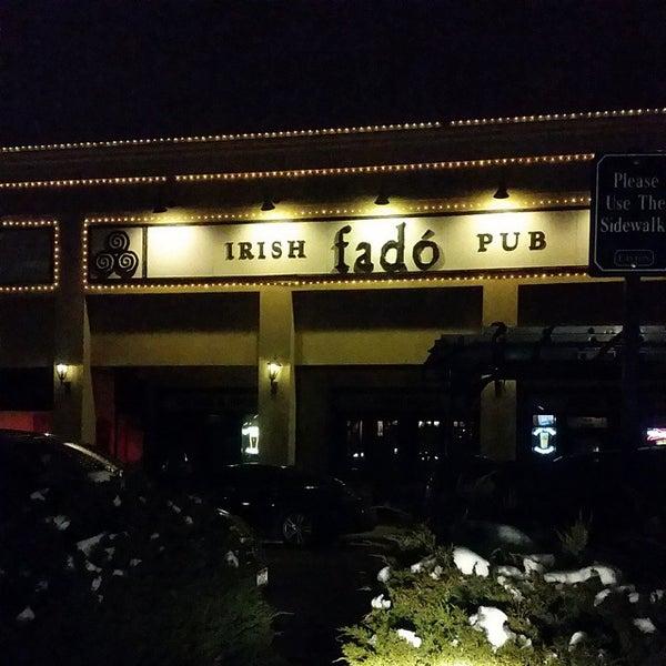 Photo taken at Fado Irish Pub & Restaurant by Paul B. on 2/25/2015