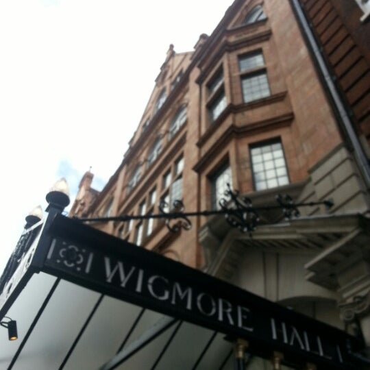 Photo taken at Wigmore Hall by Anna B S. on 2/4/2013