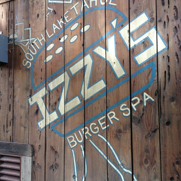 Photo taken at Izzy's Burger Spa by Tad D. on 7/22/2013