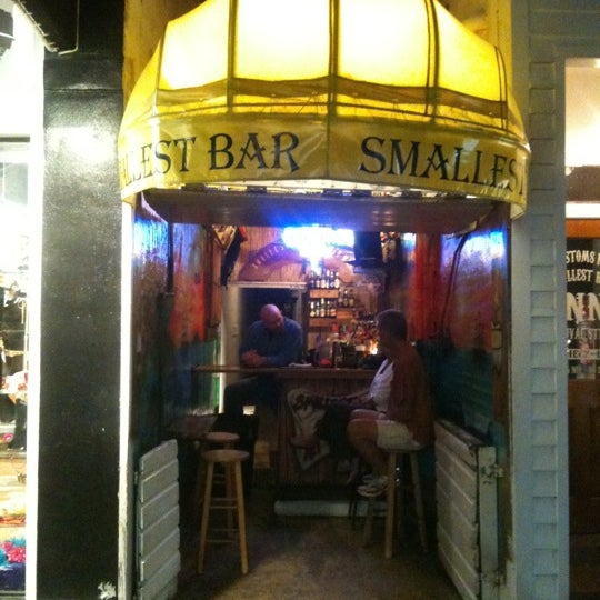 Photo taken at Smallest Bar by Eric on 11/22/2012