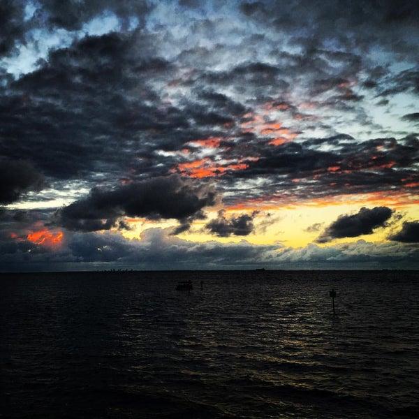 Photo taken at Apollo Beach, FL by Imran A. on 10/8/2015