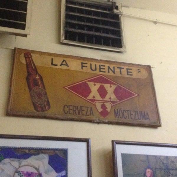 Foto tomada en Cantina La Fuente por Chopos G. el 7/13/2013
