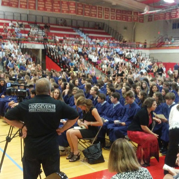 Photo taken at Hinsdale Central High School by Jon A. on 6/5/2017