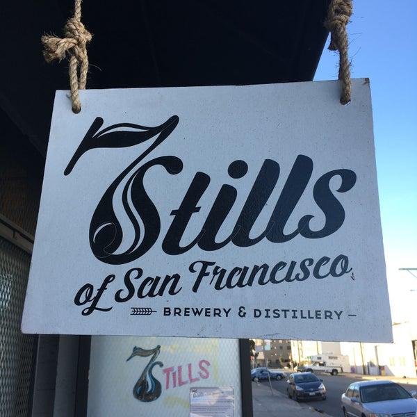 Photo taken at Seven Stills Brewery & Distillery by Brian W. on 10/9/2016