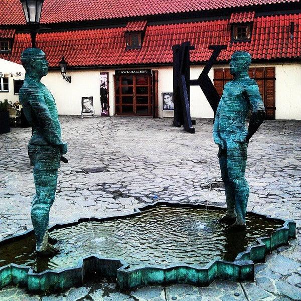 8/1/2013 tarihinde Михаил Т.ziyaretçi tarafından Franz Kafka Museum'de çekilen fotoğraf