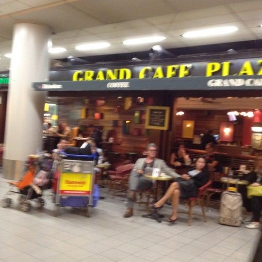 Photo taken at Grand Café Plaza by Vicky C. on 9/17/2012